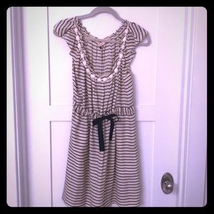 Rebecca Taylor silk striped dress